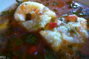 Supa cu galuste