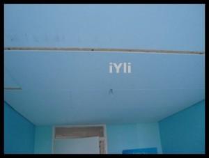 Prima jumatate a tavanului este gata